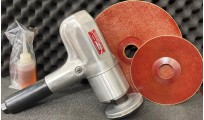"Compact 7"" Vertical Polisher/Sander"